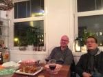 Met Dennis en Kim aan de Fu Yong Hai