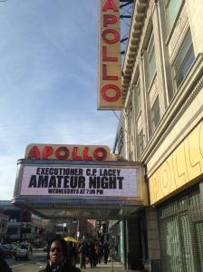 Het beroemde Apollo theater aan 253 West 125th Street, New York, Manthattan waar onder andere Dizzy Gillespie, Chick Webb, Otis Redding, Sam Cooke, Ray Charles...nog heel veel meer bekenden hebben opgetreden