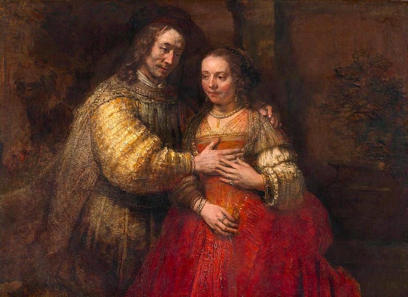 Het Joodse bruidje van Rembrandt van Rijn